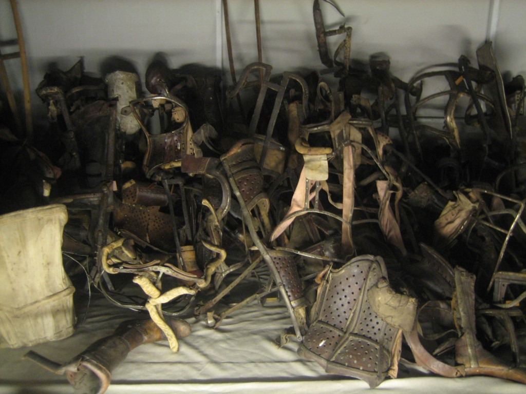 http://anadventureaday.com/wp-content/uploads/2011/04/AuschwitzProstheticDevices-1024x768.jpg